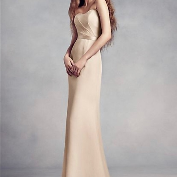 c7739722032f Vera Wang Dresses | White By Bridesmaid Dress | Poshmark